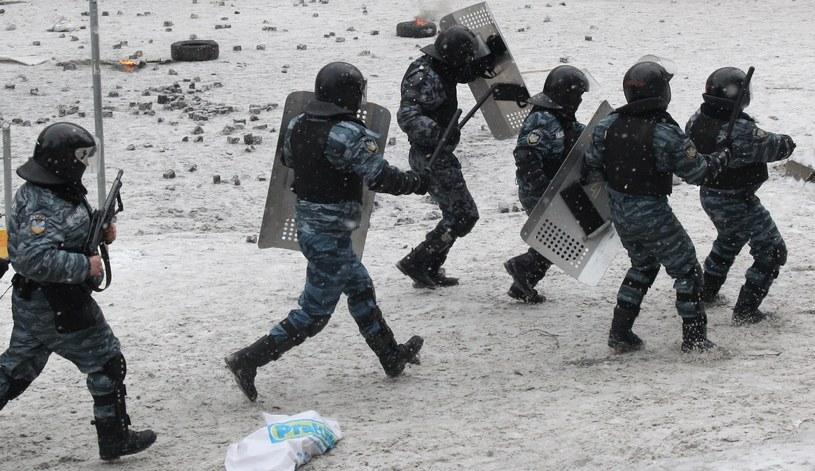 Milicja strzela do demonstrantów z broni pneumatycznej /AFP