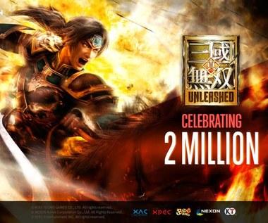 Milion pobrań Dynasty Warriors: Unleashed w dniu premiery