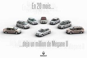 Milionowe Megane!