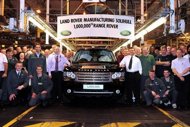 Milionowy land rover /