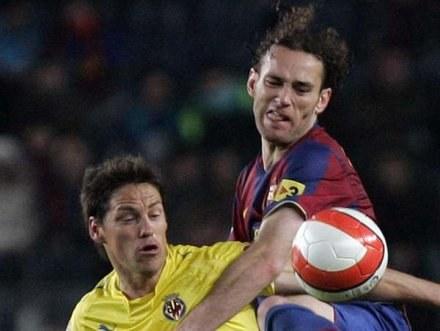 Milito pierwszy raz kopnął piłkę i jest coraz bliżej powrotu do wielkiego sportu /AFP