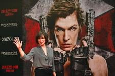 """Milla Jovovich na premierze """"Resident Evil: Ostatni rozdział"""""""