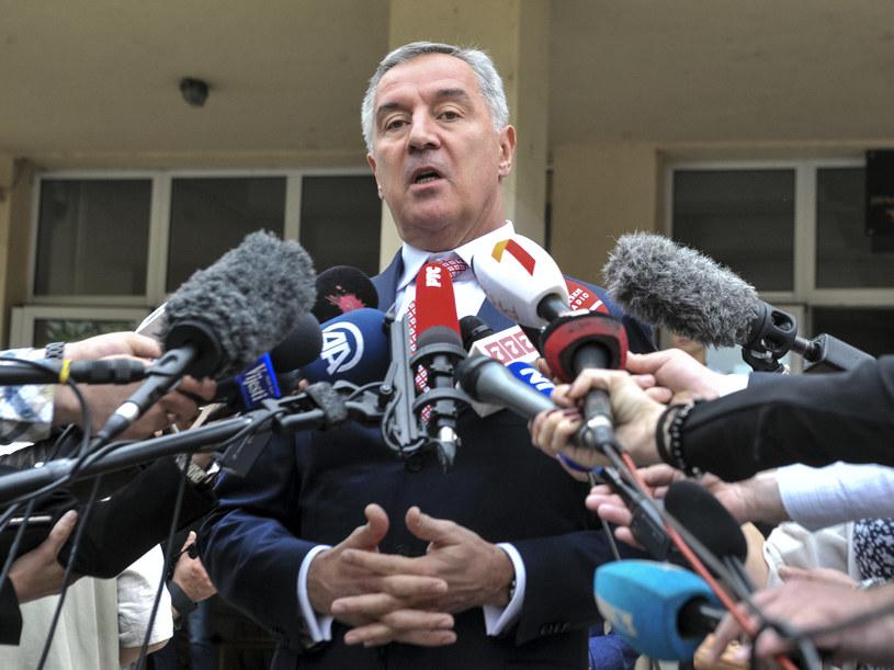 Milo Djukanović wygrywa wybory prezydenckie /SAVO PRELEVIC /AFP