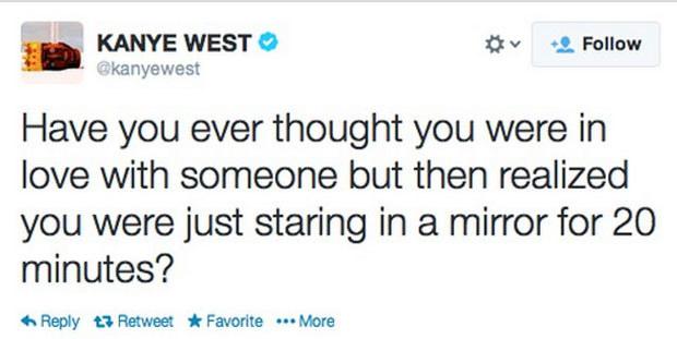 Miłość Kanye Westa nie zna granic /