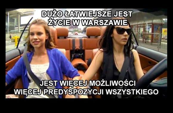 """""""Miłość na bogato"""": Kultowe predyspozycje w Warszawie /internet"""