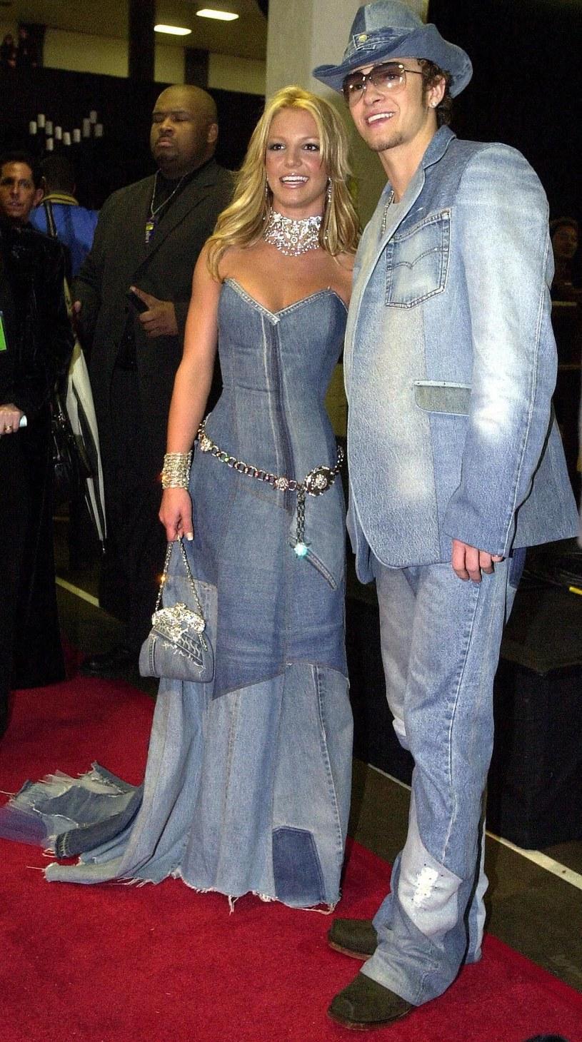 Mimo upływu czasu, stylizacja Britney Spears i Justina Timberlake'a nadal wywołuje emocje /LUCY NICHOLSON /East News