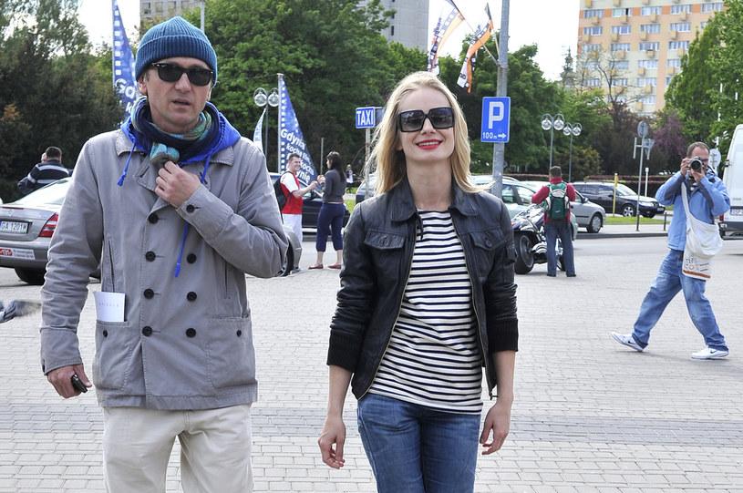 Mimo, że nie są już parą, Magda i Andrzej często widywani są razem  /Jacek Kurnikowski /AKPA