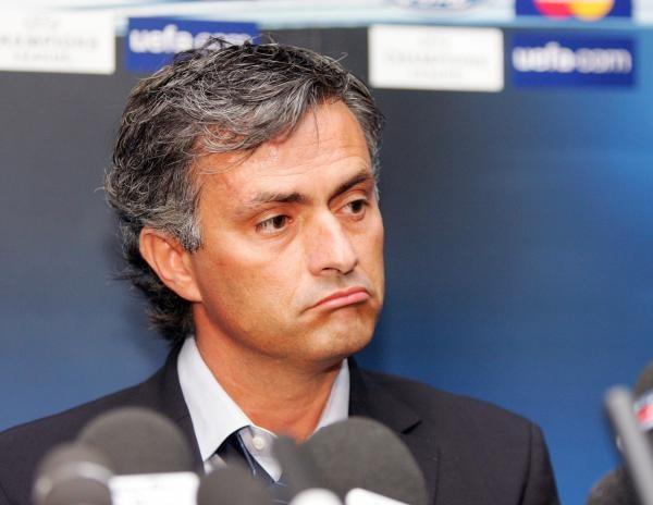 Mina menedżera Chelsea Londyn Jose Mourinho mówi wszystko /AFP