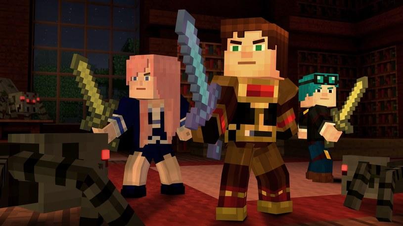 Minecraft: Story Mode /materiały prasowe