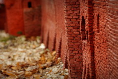 Miniatura zamku krzyżackiego