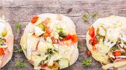 Minipizze z warzywami