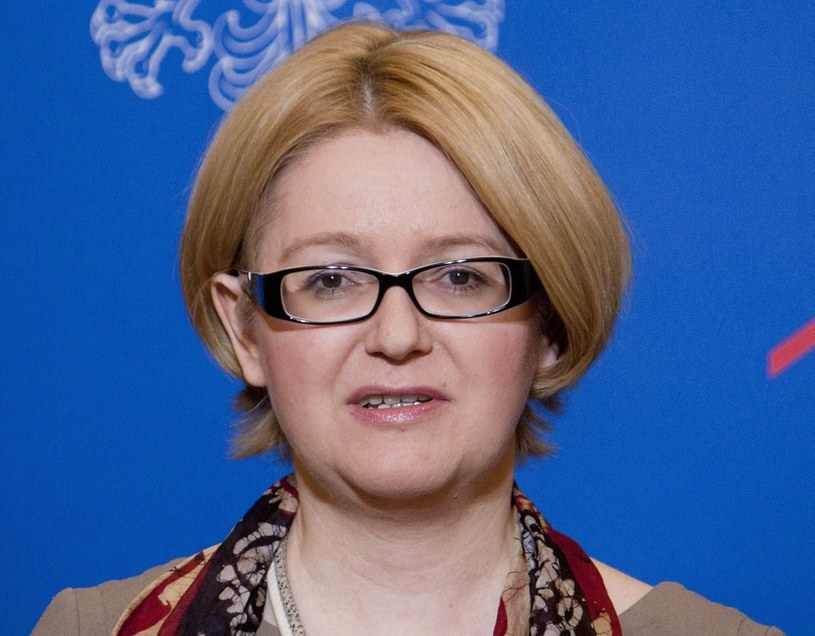Minister Agnieszka Kozłowska-Rajewicz /Krystian Dobuszyński /Reporter