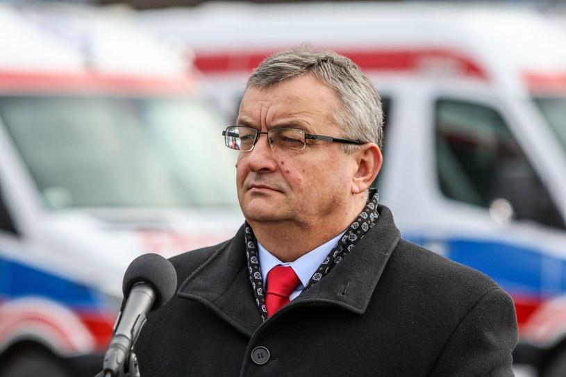 Minister Andrzej Adamczyk /Jan Graczyński /East News