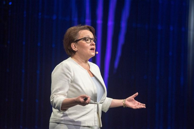 Minister Anna Zalewska /Łukasz Piecyk /Reporter