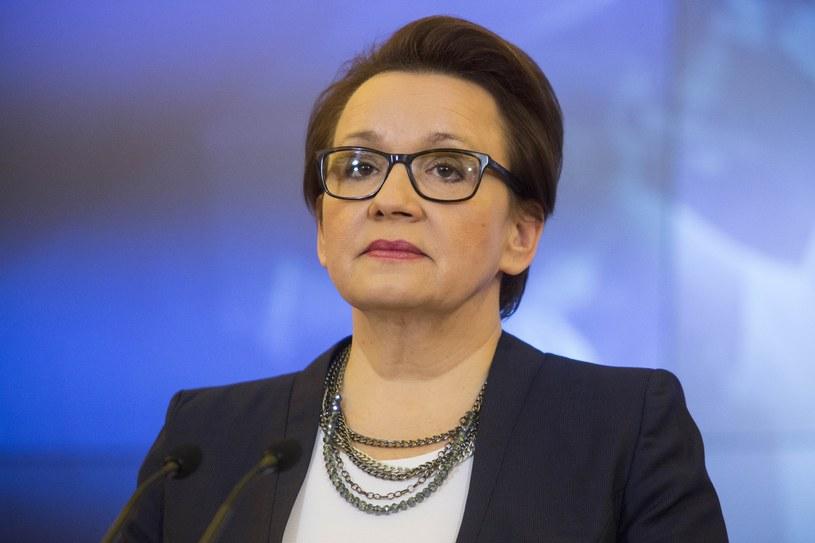 Minister Anna Zalewska /Andrzej Hulimka  /Reporter