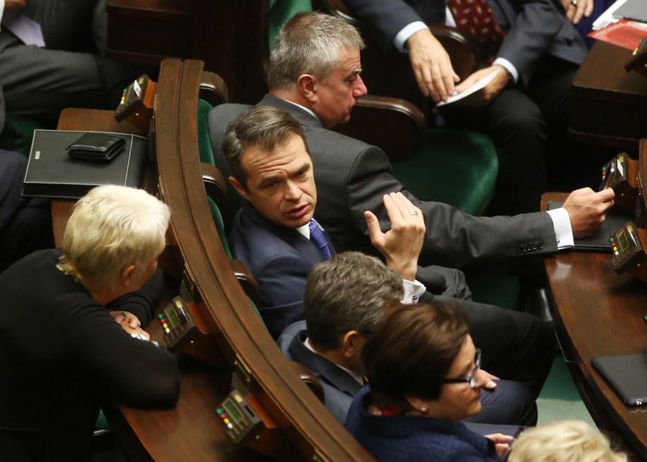 """Minister domaga się przeprosin od tygodnika """"Wprost"""" /Tomasz Gzell /PAP"""