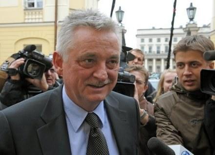 Minister Drzewiecki skierował kontrolę do PZPN /AFP
