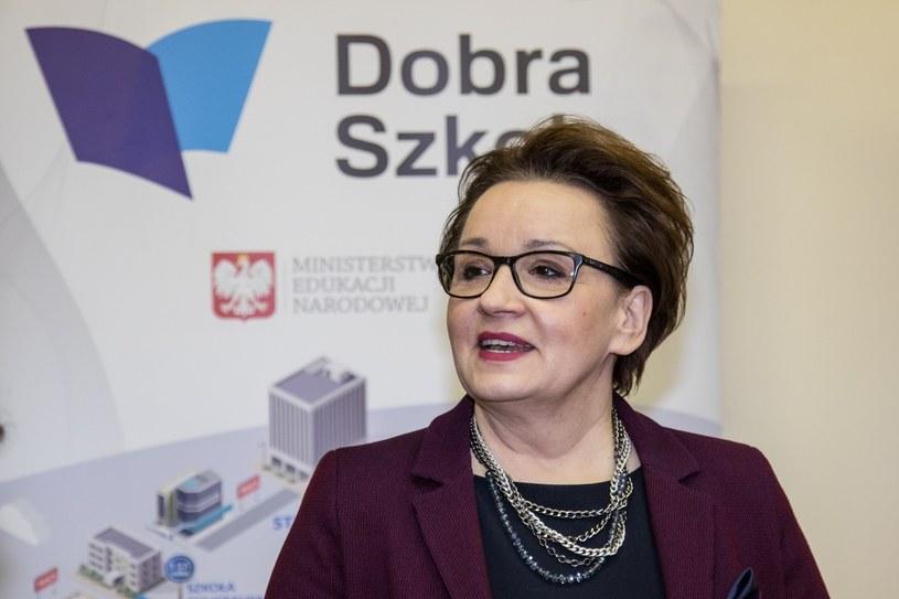 Minister edukacji Anna Zalewska /Jan Graczyński /East News