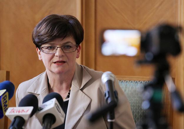Minister edukacji Krystyna Szumilas /PAP