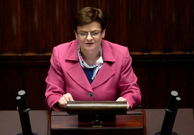 Minister edukacji Krystyna Szumilas /Bartłomiej Zborowski /PAP