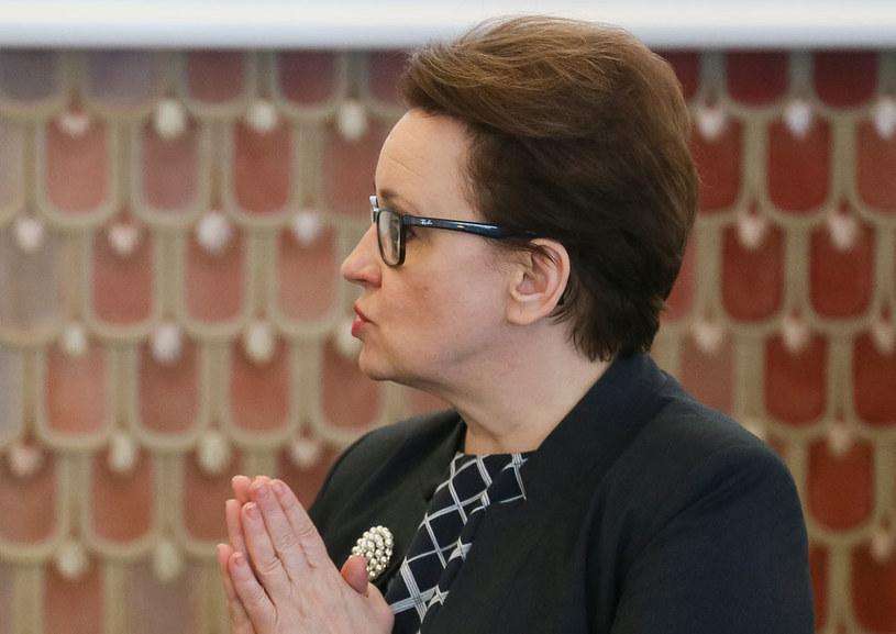 Minister edukacji narodowej Anna Zalewska (fot. Paweł Supernak) /PAP