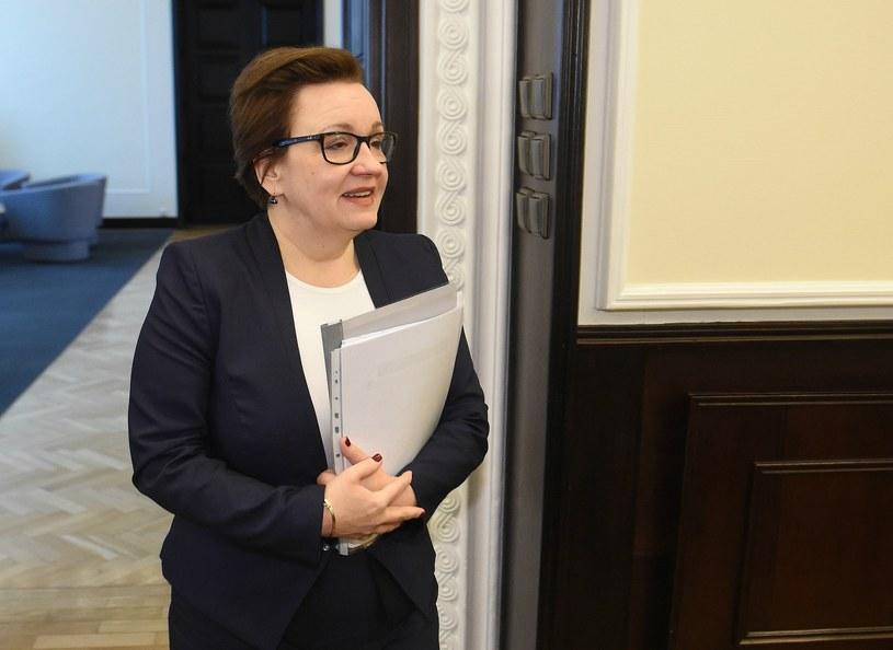 Minister Edukacji Narodowej Anna Zalewska /Radek Pietruszka /PAP