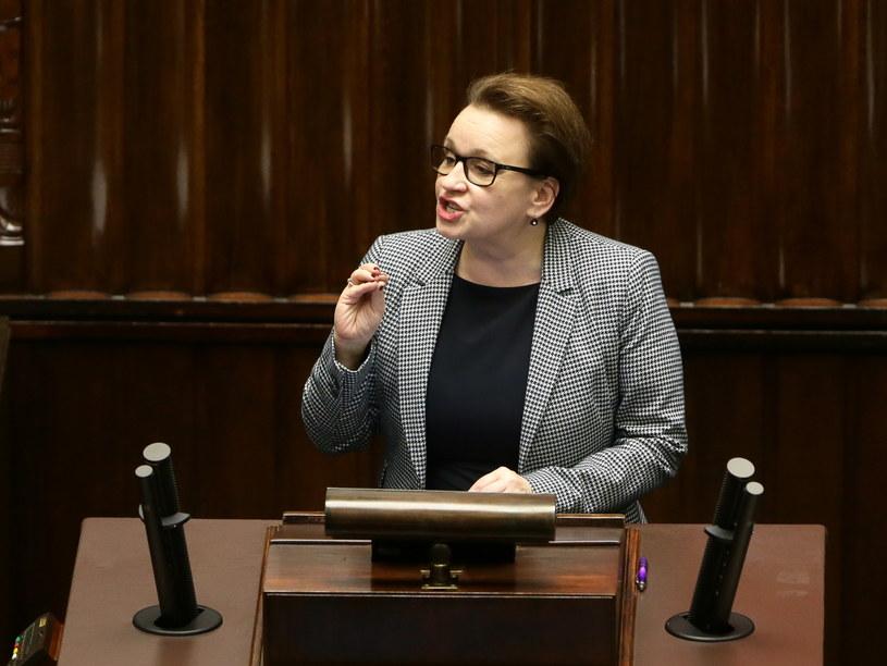 Minister edukacji narodowej Anna Zalewska /Tomasz Gzell /PAP