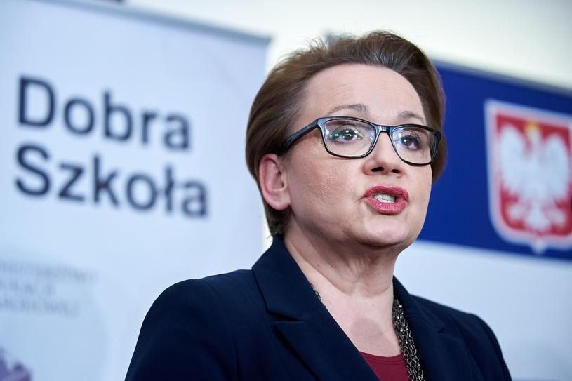 Minister Edukacji Narodowej Anna Zalewska /Łukasz Szeląg /East News
