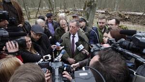 Minister Jan Szyszko w Białowieży: Główny cel to zahamować destrukcję siedlisk