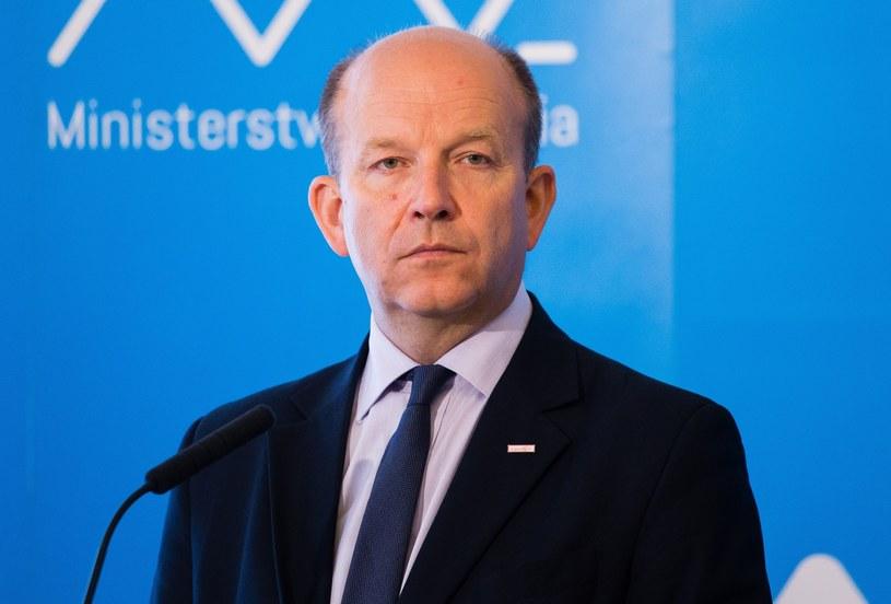 Minister Konstanty Radziwiłł /Krystian Dobuszyński /Reporter