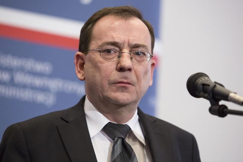 Minister koordynator ds. służb specjalnych Mariusz Kamiński /Andrzej Hulimka  /East News