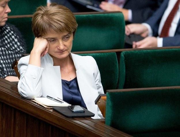 Minister Maria Wasiak /Andrzej Iwańczuk /Reporter