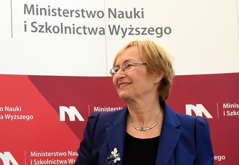 Minister nauki i szkolnictwa wyższego Lena Kolarska-Bobińska /PAP