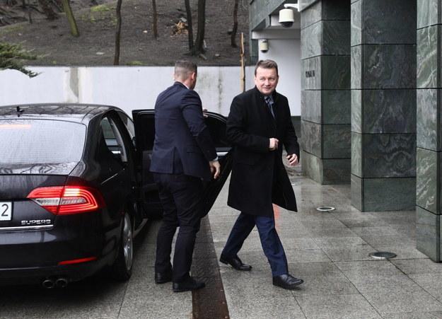 Minister obrony narodowej Mariusz Błaszczak / Leszek Szymański    /PAP