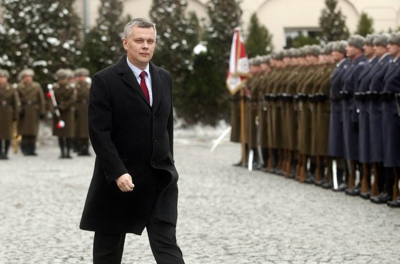 Minister obrony narodowej Tomasz Siemoniak /Rafał Guz /Reporter
