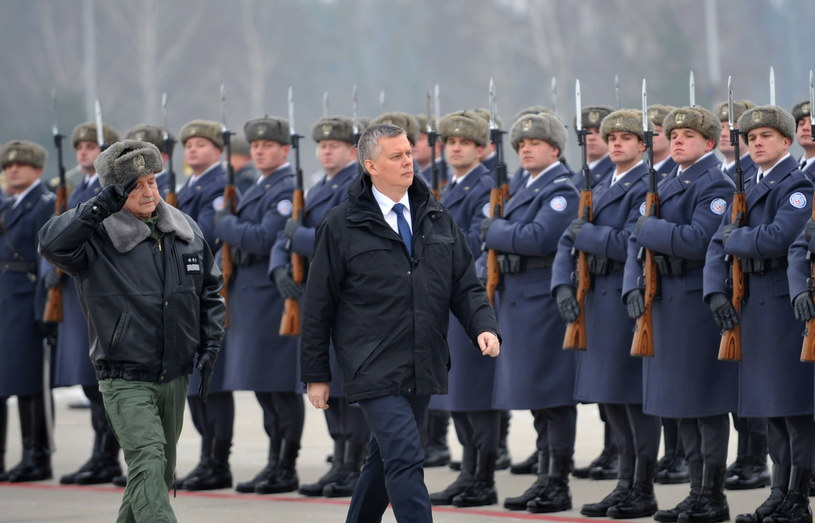 Minister obrony narodowej Tomasz Siemoniak /Przemysław Piątkowski /PAP