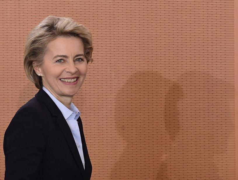 Minister obrony Niemiec Ursula von der Leyen /AFP