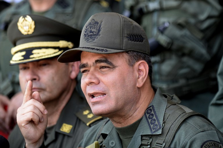 Minister obrony Vladimir Padrino /AFP