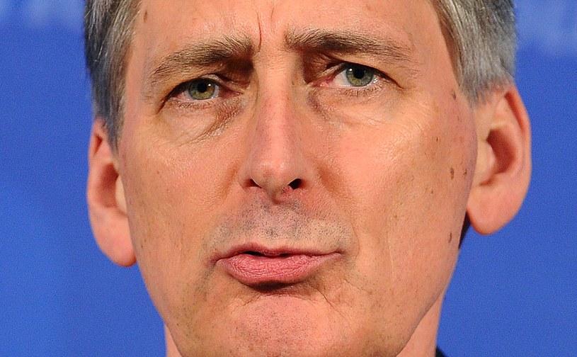 Minister obrony Wielkiej Brytanii Philip Hammond. /AFP