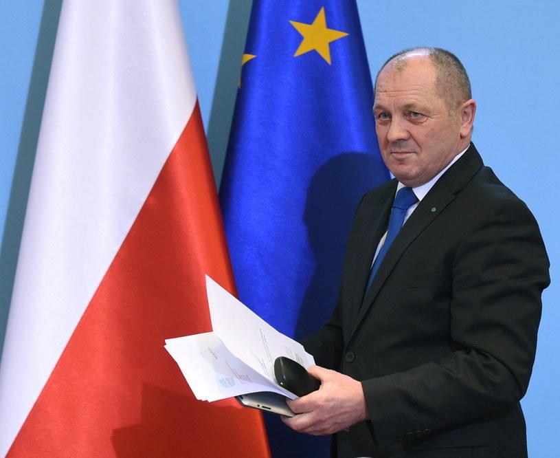 Minister rolnictwa i rozwoju wsi Marek Sawicki /Radek Pietruszka /PAP