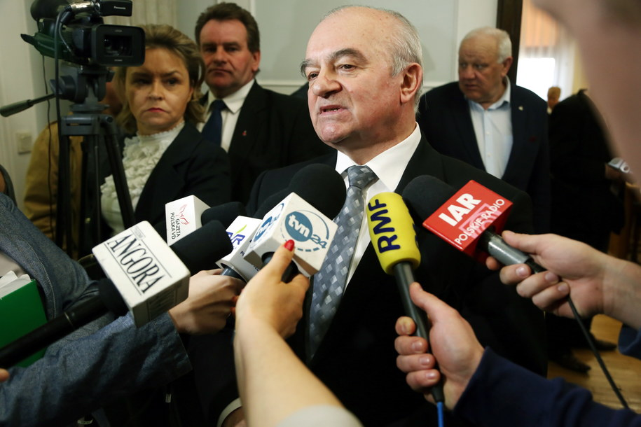 Minister rolnictwa Stanisław Kalemba /Tomasz Gzell /PAP