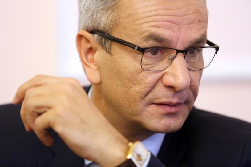 Minister sportu Andrzej Biernat /Leszek Szymański /PAP