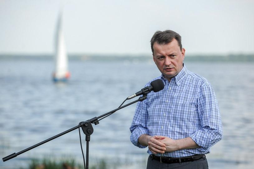 Minister spraw wewnętrznych i administracji Mariusz Błaszczak /Marcin Obara /PAP