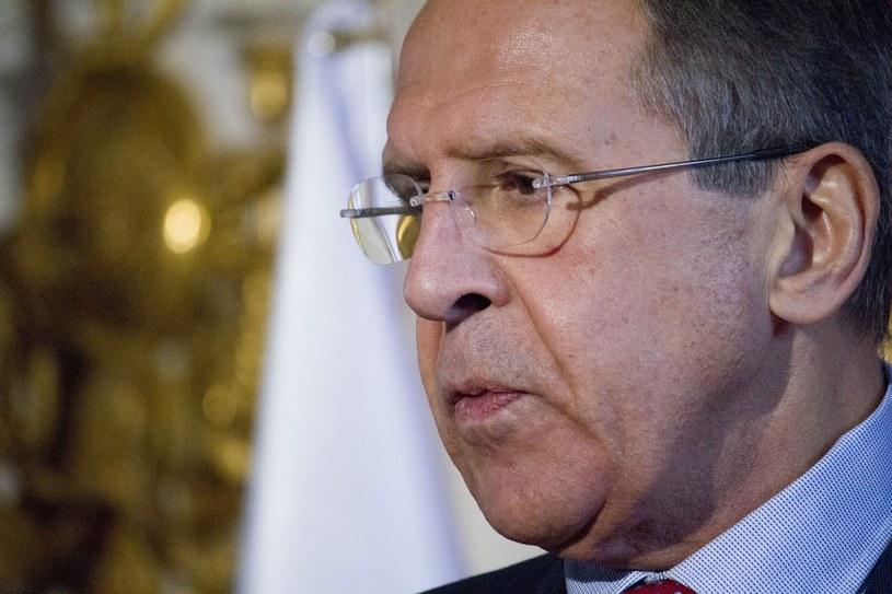 Minister spraw zagranicznych Federacji Rosyjskiej Siergiej Ławrow /Krystian Dobuszyński /East News