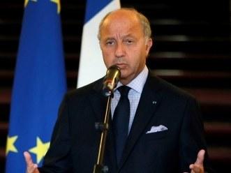 Minister spraw zagranicznych Francji Laurent Fabius /IAN LANGSDON /PAP/EPA