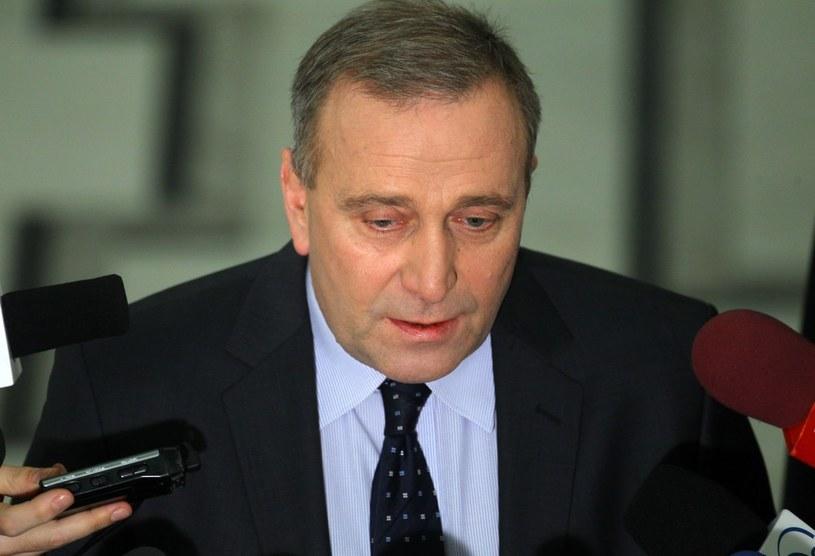 Minister Spraw Zagranicznych Grzegorz Schetyna /STANISLAW KOWALCZUK /East News
