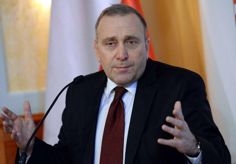Minister spraw zagranicznych Grzegorz Schetyna /AFP