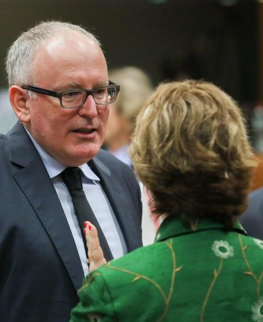 Minister spraw zagranicznych Holandii Frans Timmermans /JULIEN WARNAND /PAP/EPA