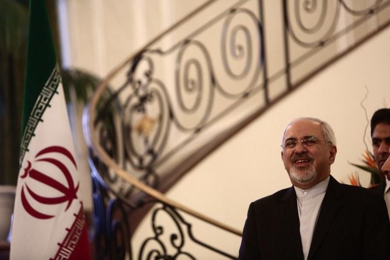 Minister spraw zagranicznych Iranu Mohammad Dżawad Zarif /AFP