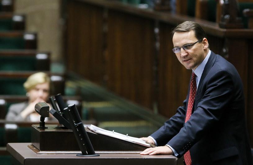 Minister spraw zagranicznych Radosław Sikorski /Paweł Supernak /PAP